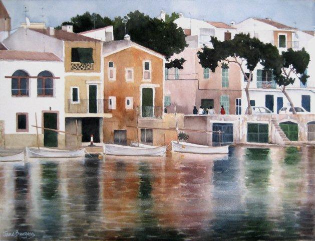 Harbour Porto Colom, Jane Burgess.