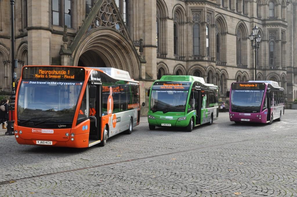 Metroshuttle buses