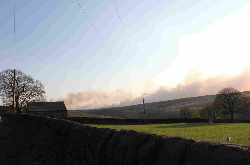 Wildfires highlight the vulnerability of the South Pennines