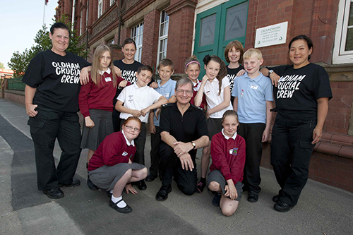 Crucial Crew - pupils and police from Oldham