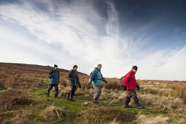 Walkers in South Pennines by Steve Morgan Low Res