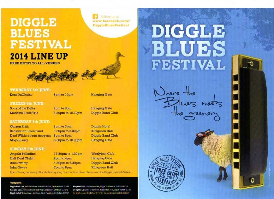 2014 Diggle Blues Festival