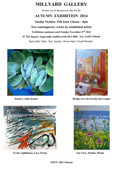Millyard Gallery Autumn Exhibition