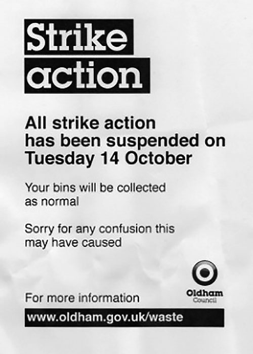 Strike Action Suspended