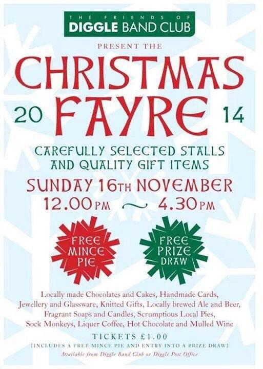 Diggle Band Club's Christmas Fayre
