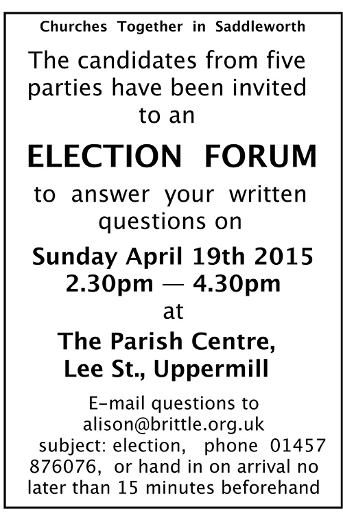 election forum uppermill