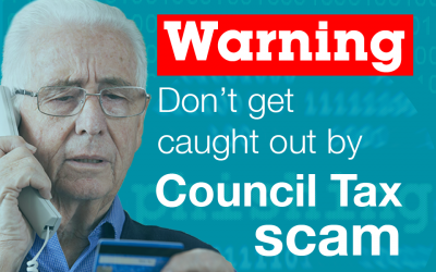 OMBC: Warning, don't get caught out by council tax scam!