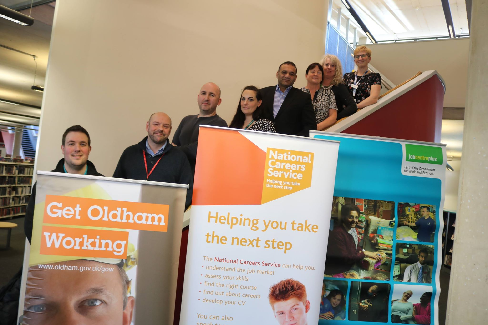 Take your next step at Get OIdham Working's Career and Apprenticeship Fair