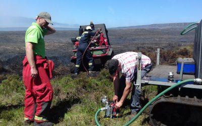 Operation FireWatch underway in the Peak District National Park